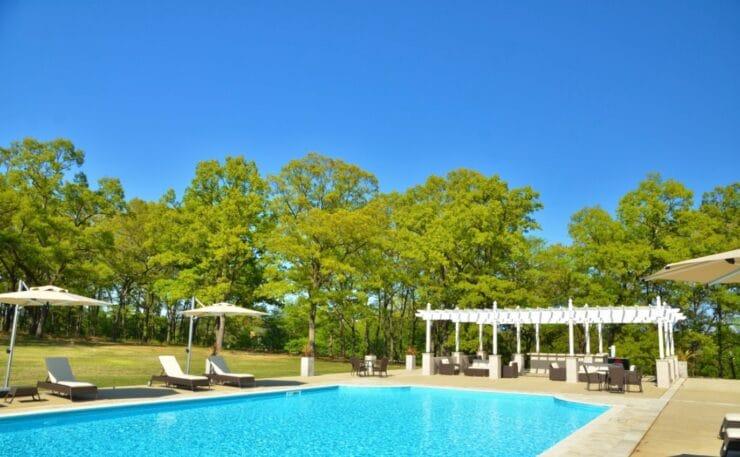 芳賀ファーム&グランピングのプール