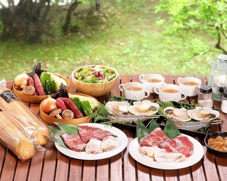 UFUFU VILLAGE | ウフフビレッジ 夕食BBQ写真