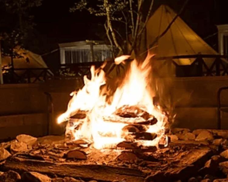 UFUFU VILLAGE | ウフフビレッジ 焚き火写真