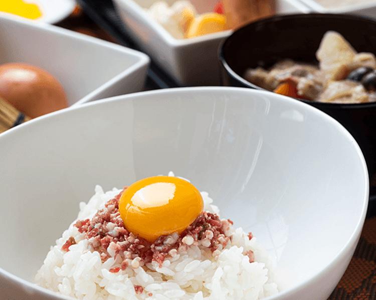 グランピングリゾートフェーリエンドルフの朝食