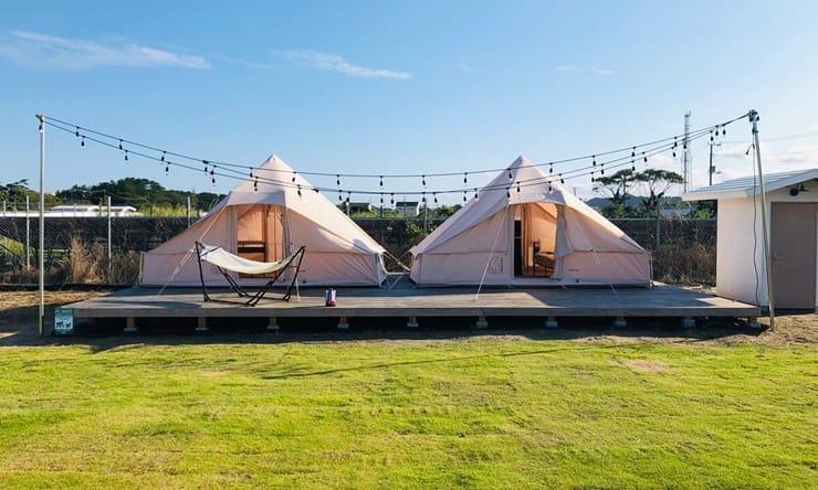 Ocean's Camp TORAMII-ichinomiyaの客室外観