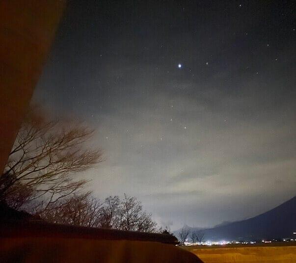 星のや富士の夜