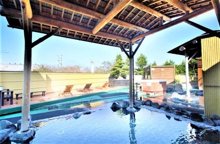 アウトドア・ヒル・ビレッジの入浴施設