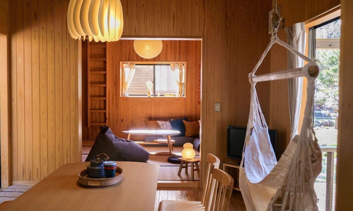 「ザランタン(The Lantown)あば村」の客室の内装
