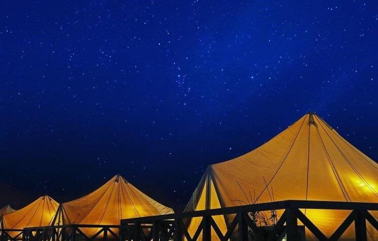 UFUFU VILLAGE | ウフフビレッジ 夜空