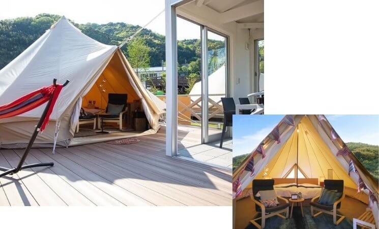 UFUFU VILLAGE | ウフフビレッジ テント客室写真